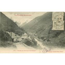 09 HAUT-SALAT. Village de Couflens 1906