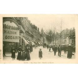 41 BLOIS. A la Belle Jardinière rue Porte Côté et Marché au Beurre