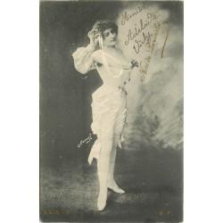 Artiste Streap-tease. L'éffeuilleuse NINE DE PERVENCHE 1905