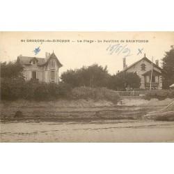 17 SAINT-GEORGES-DE-DIDONNE. Plage avec Pavillon de Saintonge 1927