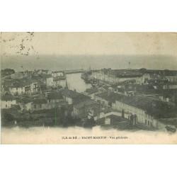 17 ILE DE RE SAINT-MARTIN. Vue sur le Canal 1904