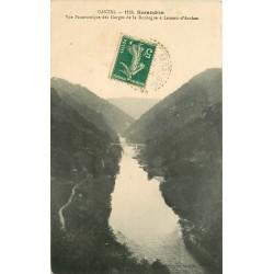 15 SERANDON. Gorges de la Dordogne à Laneau-d'Arches