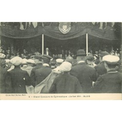 41 BLOIS. En 1910 Grand Concours de Gymnastique 1937