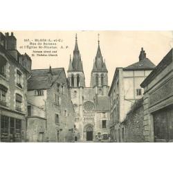 41 BLOIS. Eglise Saint-Nicolas rue du Sermon