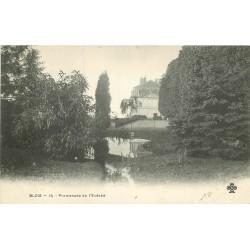 41 BLOIS. Promenade de l'Evêché vers 1900