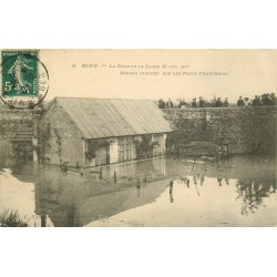 41 BLOIS. Crue de la Loire. Maison inondée rue des Ponts Chartrains 1907
