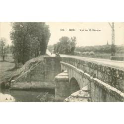 41 BLOIS. Vue sur Saint-Gervais depuis le Pont