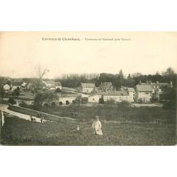 41 MONTRICHARD. Panorama de Nanteuil près Vineuil avec enfants