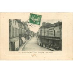 24 MONPONT-SUR-L'ISLE. Boucherie et Plombier rue Thiers 1913