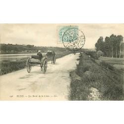 41 BLOIS. Attelages sur les Bords de la Loire 1905
