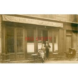 "92 LEVALLOIS PERRET. Café "" LATGER "" Bière Dumesnil 41 rue Danton"