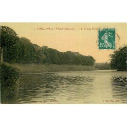 50 TORIGNI-SUR-VIRE. Etang Rond Point 1911