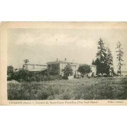 32 CONDOM. Monastère du Sacré-Coeur Prouillan