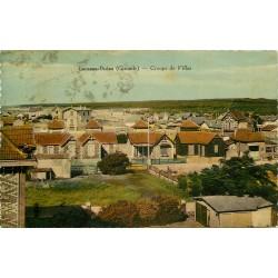 2 x cpa 33 LACANAU-OCEAN. Villas 1938 et Plage du Moutchic