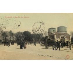 41 BLOIS. Marché aux Chevaux et le Château d'Eau 1911