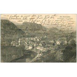 carte postale ancienne 15 ANTIGNAC. Vue du Village 1906