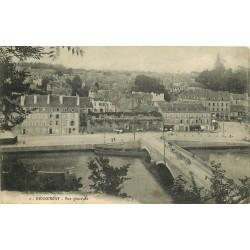 56 HENNEBONT. Le Pont et la Ville 1914