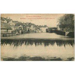 carte postale ancienne 15 AURILLAC. Cascade de la Jordanne