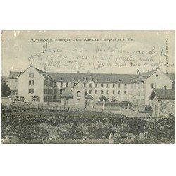 carte postale ancienne 15 AURILLAC. Collège de Jeunes Filles 1915