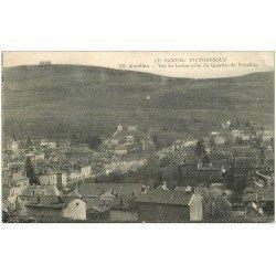 carte postale ancienne 15 AURILLAC. Le Centre pris du Quartier de Versailles