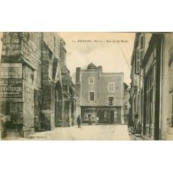 03 EBREUIL. Papeterie Librairie rue de la Halle