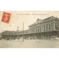 42 SAINT-ETIENNE. Gare de Châteaucreux 1915