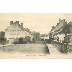 03 SAINT-POURCAIN SUR SIOULE. Pont du Faubourg Paluet 1906