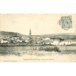 43 PAULHAGUET. Vue sur le Village 1908