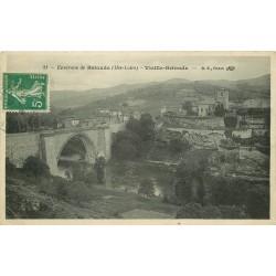 43 VIEILLE-BRIOUDE. Pont sur l'Allier 1913