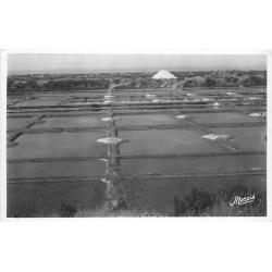 44 LE POULIGUEN. Mulons de Sel dans les Marrais salants
