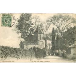 47 BOE. Ecoliers près de l'Eglise 1907