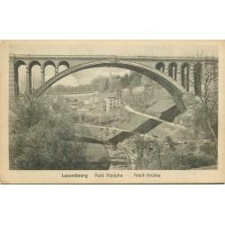 LUXEMBOURG. Pont Adolphe Adolf-Brücke