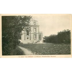 """50 TOURLAVILLE. Le Chalet """" Les Goëlands """" le Becquet 1927"""