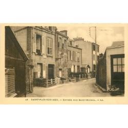 50 SAINT-PAIR-SUR-MER. Entrée rue Saint-Michel