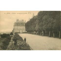 3 x Cpa 41 BLOIS. L'Evêché. Jardin du Square 1924, Terrasse et Vallée de la Loire 1915