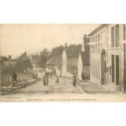 02 BEAURIEUX. Mairie et rue du Pavé