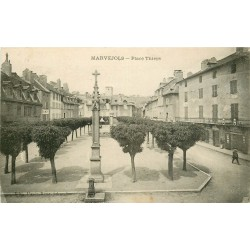 48 MARVEJOLS. Place Thiers 1925