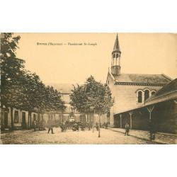 53 EVRON. Ecoliers au Pensionnat Saint-Joseph