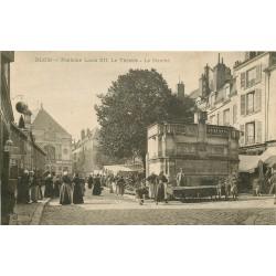 3 Cpa 41 BLOIS Fontaine Louis XII Théâtre et Marché 1905-1926