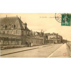 41 BLOIS. Quai de l'Hôpital 1911