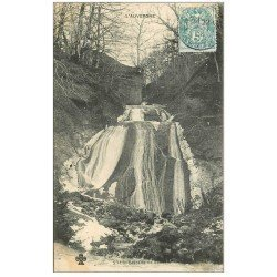 carte postale ancienne 15 CASCADE de VENDEIX 1905