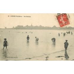 56 LARMOR PLAGE. Enfants au Bains à la Plage 1909
