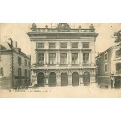 2 x Cpa 56 LORIENT. Le Théâtre 1915 et Place Alsace-Lorraine