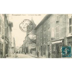 23 BOURGANEUF. Imprimerie sur les Quatres rues 1920