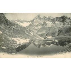 ZERMATT. Lac noir et Gabelhorn 1905