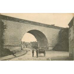 2 x Cpa 41 BLOIS. Le Pont du Chemin de Fer des Granges 1907