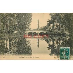 24 RIBERAC. Le Pont du Chalard 1912