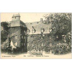 carte postale ancienne 15 Château de Conroc 1906