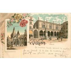 VERONA. Palazzo del Consiglio & Scaligeri 1905