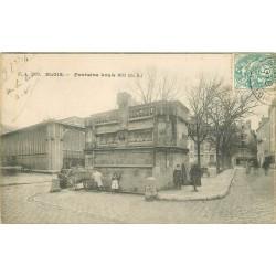 3 x Cpa 41 BLOIS. Fontaine Louis XII 1904, 1910 et 1923 avec enfants
